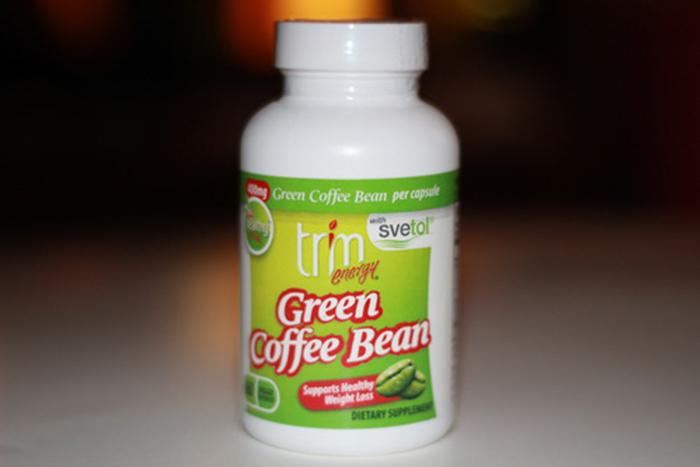 Energy Green Coffee Bean