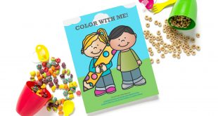 Color With Me Printable
